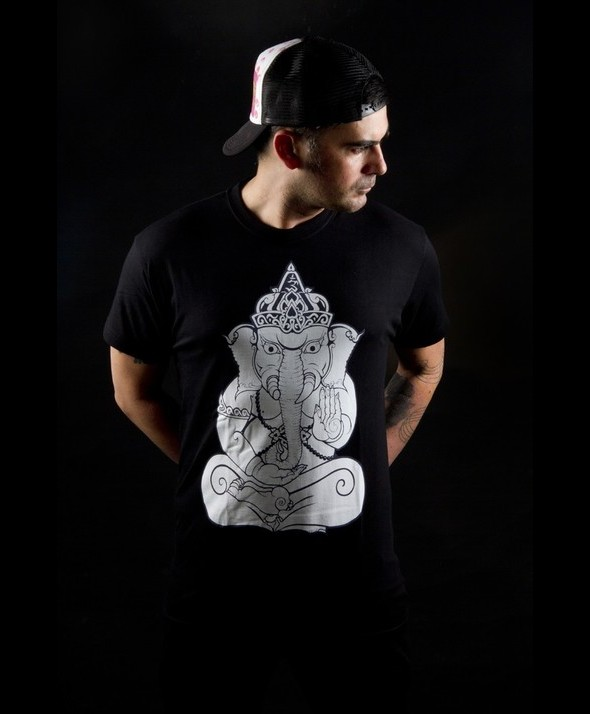 Thai Elephant Kusama Tshirt, Sontaya 02