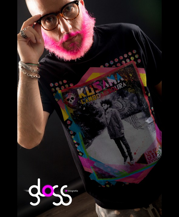 Camiseta Kusama Lin Cortes