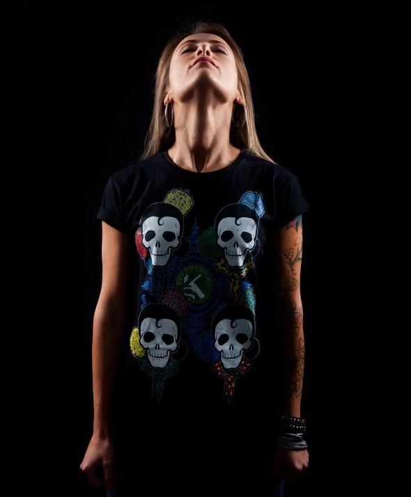 Kusama 4 Skull Basic
