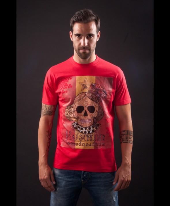 Kusama Tshirt, La roja 2014